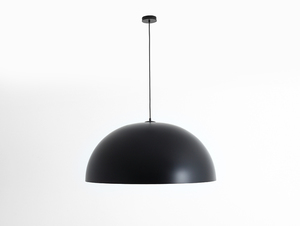 Hanging lamp LORD 90 - copper-black small 0