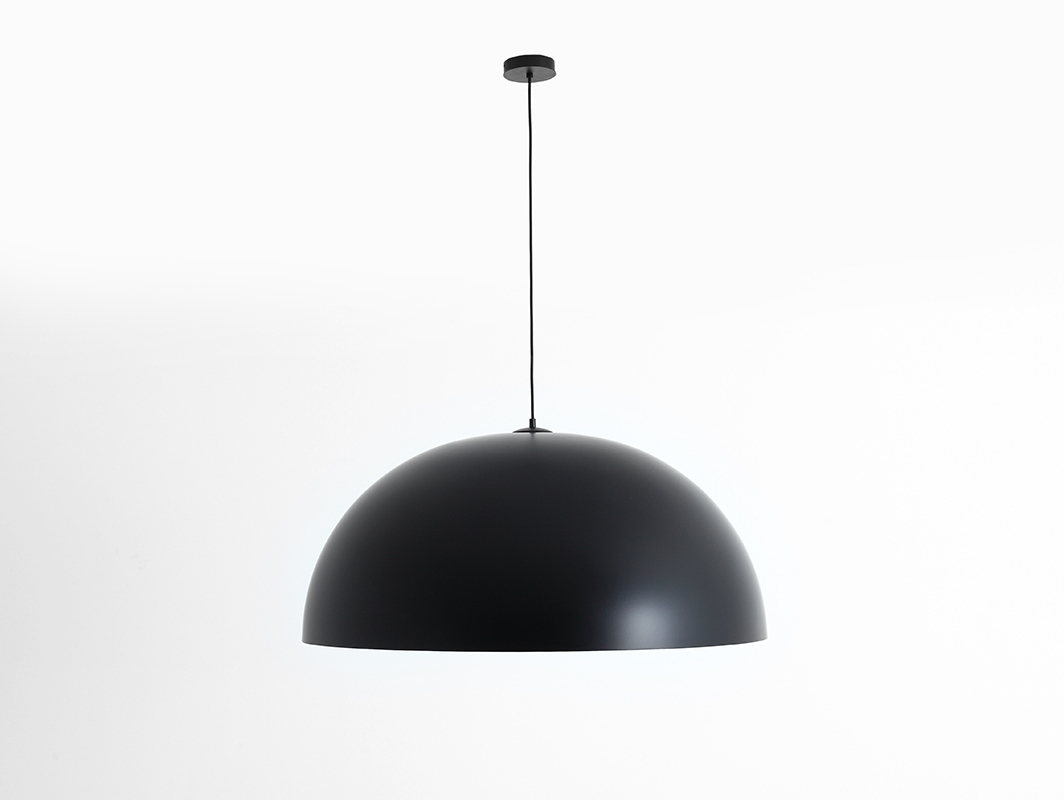 Hanging lamp LORD 90 - copper-black