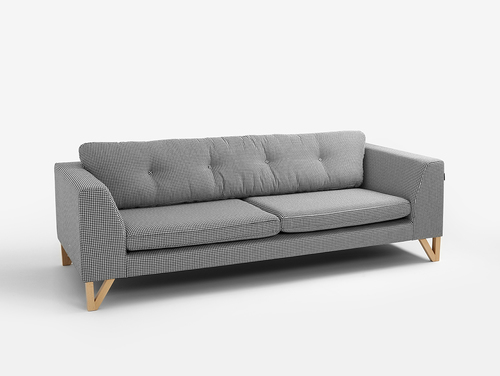 Three-seat sofa-bed WILLY