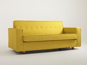 Double sofa bed ZUGO small 2