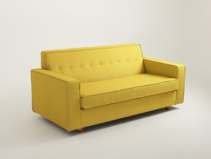 Double sofa bed ZUGO small 0
