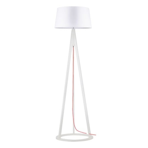 Konan floor lamp white / red- white / white E27 60W