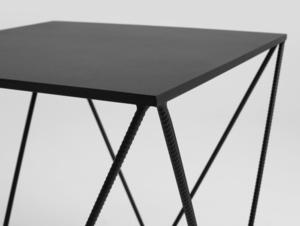 DARYL METAL 60 coffee table small 4