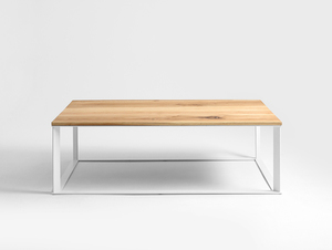 SKADEN SOLID WOOD 140 coffee table small 0