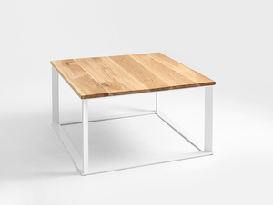 SKADEN SOLID WOOD 80 coffee table small 3