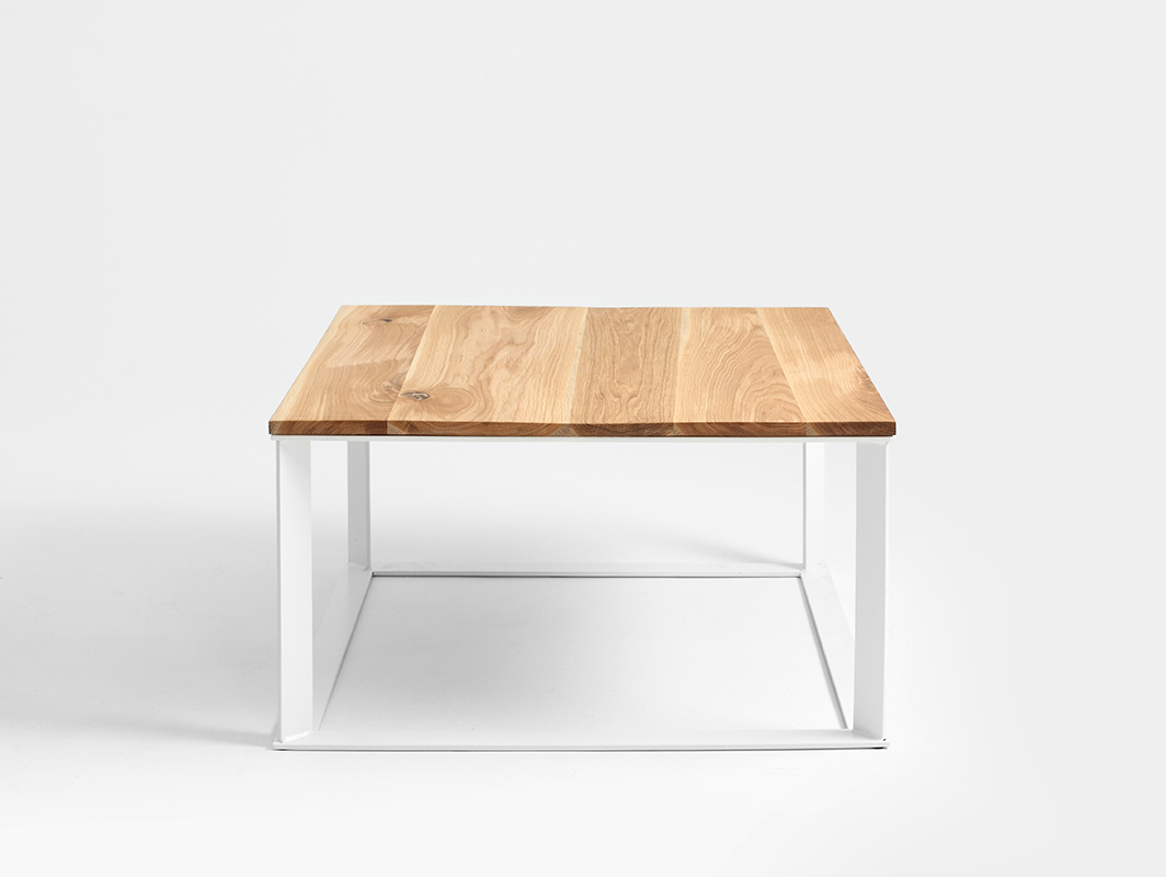 SKADEN SOLID WOOD 80 coffee table