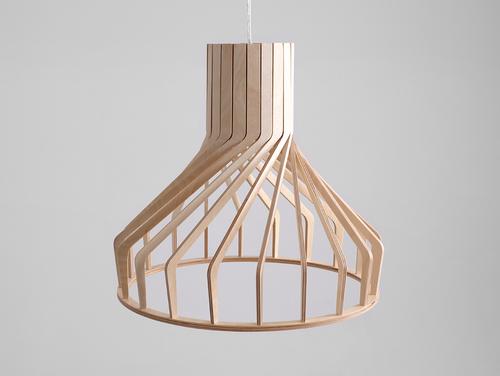 Hanging lamp VEGA FAT - natural