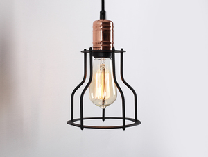 WORKER WIDE WALL wall lamp - black small 2