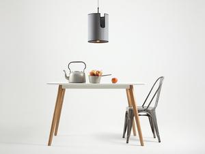 HOBBIT I hanging lamp - gray small 1