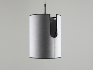 HOBBIT I hanging lamp - gray small 2