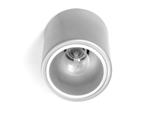 DOWNSPOT SILVER S 15 ceiling lamp - silver small 2