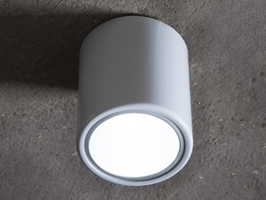 DOWNSPOT SILVER S 15 ceiling lamp - silver small 0