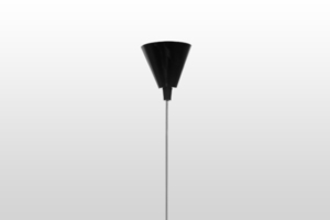 Hanging lamp ICE 1 - black small 3