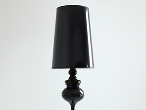 AMBER FLOOR floor lamp - black small 1