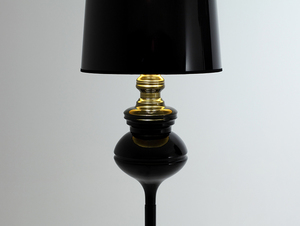 AMBER FLOOR floor lamp - black small 4