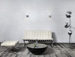URBAN wall lamp - silver small 1
