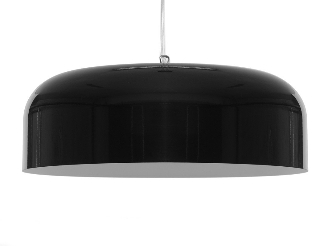 Hanging lamp OW M - black
