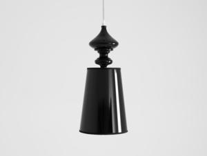 AMBER pendant lamp - black small 0
