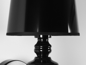 AMBER WALL wall lamp - black small 4