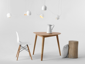 Hanging lamp POPO 6 - white small 2