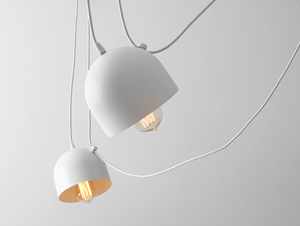 Hanging lamp POPO 6 - white small 4