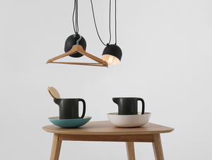 POPO 2 hanging lamp - black small 1