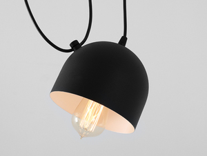 POPO 2 hanging lamp - black small 4