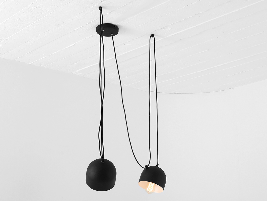 POPO 2 hanging lamp - black