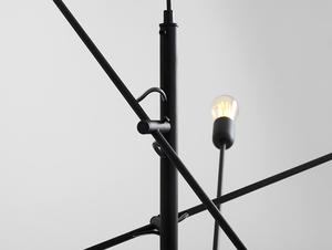 TWIGO 6 hanging lamp - black small 4