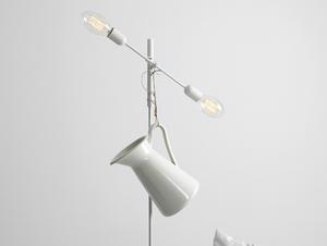 TWIGO FLOOR 2 floor lamp - white small 1