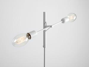 TWIGO FLOOR 2 floor lamp - white small 3