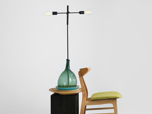 TWIGO FLOOR 2 floor lamp - black small 1