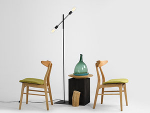 TWIGO FLOOR 2 floor lamp - black small 2