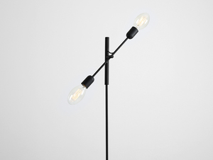 TWIGO FLOOR 2 floor lamp - black small 3