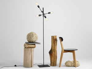 TWIGO FLOOR 4 floor lamp - black small 2