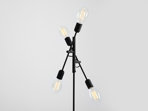 TWIGO FLOOR 4 floor lamp - black small 3