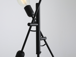 TWIGO FLOOR 4 floor lamp - black small 4