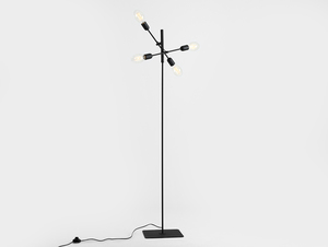 TWIGO FLOOR 4 floor lamp - black small 0