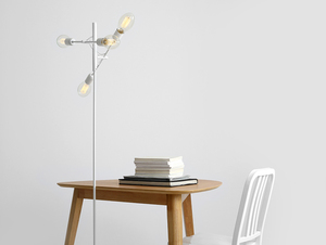 TWIGO FLOOR 4 floor lamp - white small 1