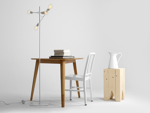 TWIGO FLOOR 4 floor lamp - white small 2