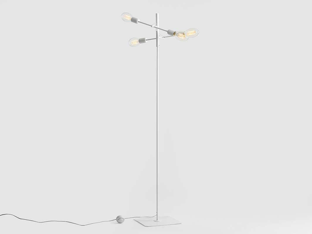 TWIGO FLOOR 4 floor lamp - white