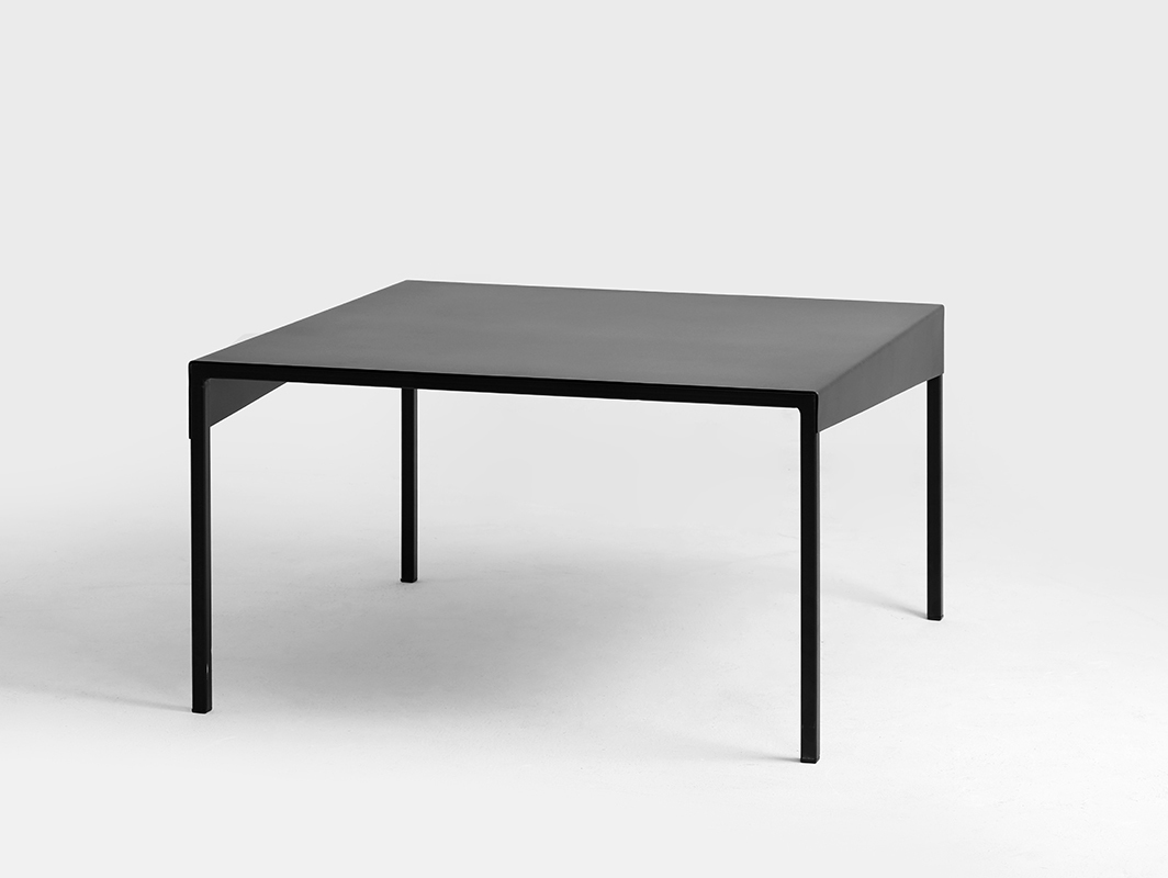 OBROOS COFFEE METAL 80x80 coffee table