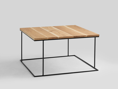 Stół kawowy WALT SOLID WOOD 100x100