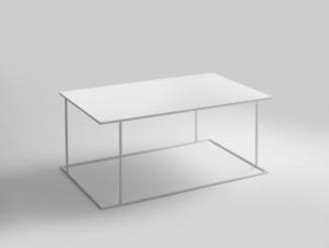 WALT METAL 100x60 coffee table small 0