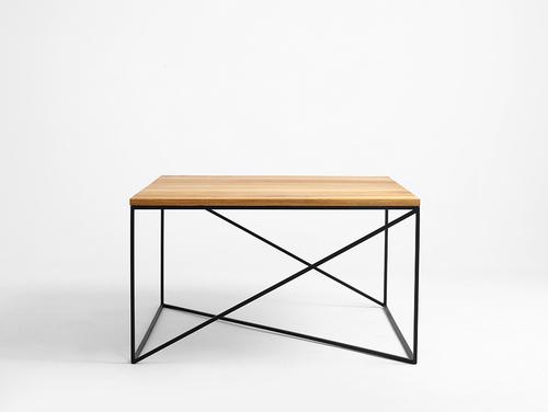 Stół kawowy MEMO SOLID WOOD 100x100