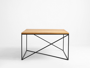 MEMO SOLID WOOD 100x100 coffee table small 0