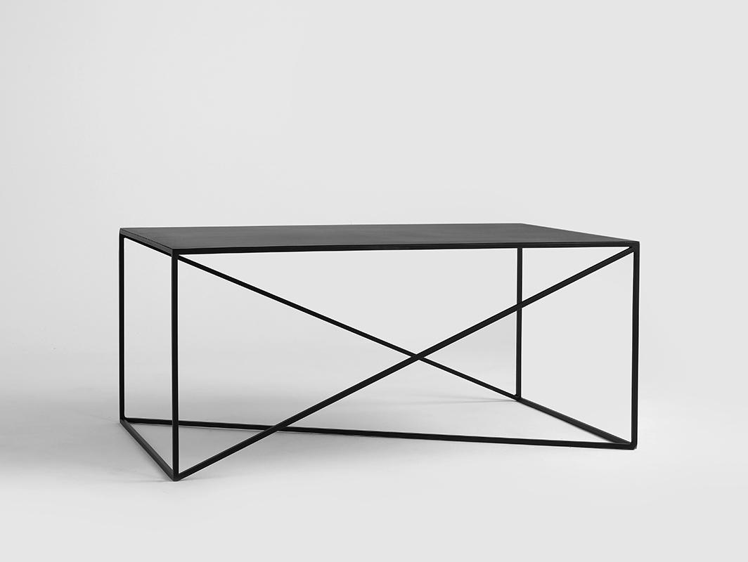 MEMO METAL 100x60 coffee table