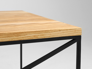 MEMO SOLID WOOD 100x60 coffee table small 4