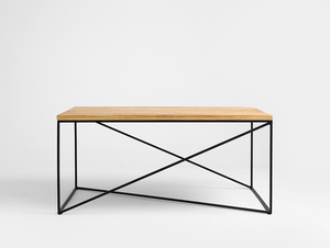 MEMO SOLID WOOD 100x60 coffee table small 0