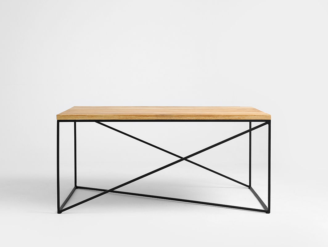 MEMO SOLID WOOD 100x60 coffee table